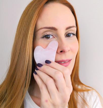 Face massage online courses with Ivana Mrkalj